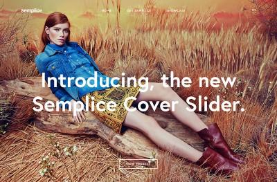 Semplice Coverslider