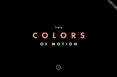 The Colors Of Motion