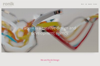 Ronik Design + Development