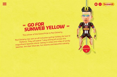 Go For Sunweb Yello