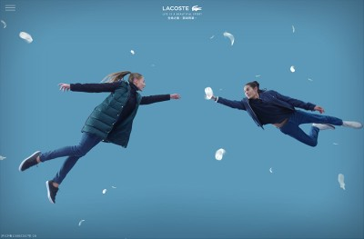 LACOSTE WARM UP RELATION