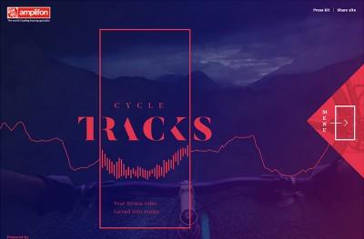Strava Cycle Tracks – Music Generator