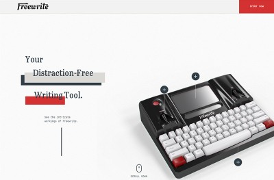 Freewrite – Your Distraction-Free Writing Tool.