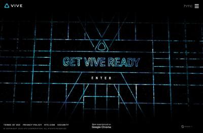 HTC Vive – Get Vive Ready