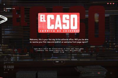 Corto interactivo El Caso – Lab RTVE.es
