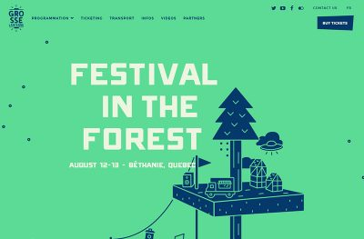 Grosse Lanterne – Festival in the woods