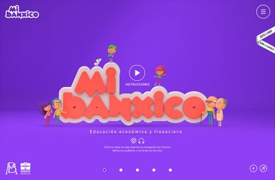 Mi Banxico – Sitio para niños